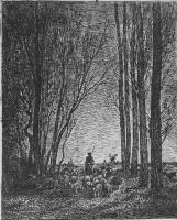 Шарль-Франсуа Добиньи. Возвращение стада