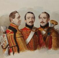 Портрет трубачей лейб-гвардии Гусарского полка