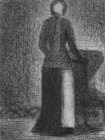 Жорж Сёра. Чепец-повязка