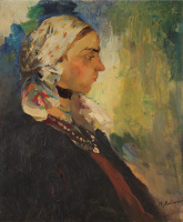 Филипп Андреевич Малявин. Баба