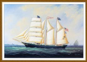 Уильям Дэвис. В море
