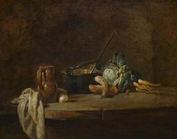 Jean Baptiste Simeon Chardin. The vegetables for the soup