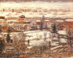 Фридрих Карл Фриске. Самаденский пейзаж