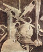 """Джорджоне. Фриз с гризайлями с изображениями """"семи свободных искусств"""" и механики. Доспехи"""