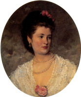 Иван Николаевич Крамской. Женский портрет