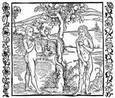 Альбрехт Дюрер. Ева вкушает яблоко