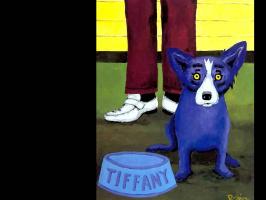 Джордж Родриг. Голубая собака024