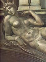 Микеланджело Буонарроти. Гробница Лоренцо Медичи. Рассвет.