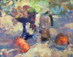 Альберт Щитков. Синяя ваза