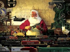 Том  Ньюсом. Санта и его поезда
