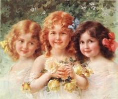 Эмиль Вернон. Три сестры