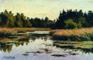 Ефим Ефимович Волков. Лесная река