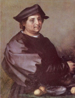Андреа дель Сарто. Авопортрет