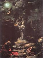 Ян Госсарт. Молитва в саду