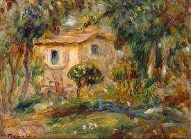Pierre-Auguste Renoir. Landscape. Le Cannet