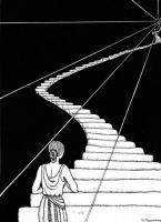 Доротея Таннинг. «Занятия в Софоре и Новом Свете» (иллюстрация к ежегоднику Колледжа Нокса)