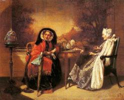 Александр Баккер-Корфф. Пожилые женщины