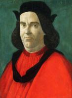 Sandro Botticelli. Portrait of Lorenzo di Ser Piero Lorenzi