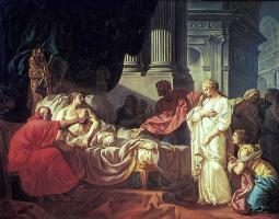 Jacques-Louis David. Antiochus and stratonice