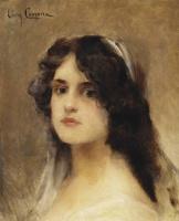 Леон Франсуа Комерр. Портрет женщины.