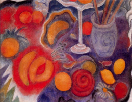 Элберт Блох. Натюрморт с лимонами