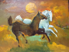 Anastasia Uvarova. My horses