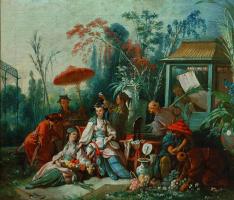 Франсуа Буше. Китайский сад