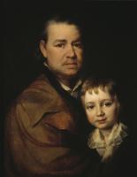Дмитрий Григорьевич Левицкий. Портрет неизвестного пожилого человека с мальчиком