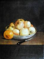 Жан-Этьен Лиотар. Натюрморт с яблоками