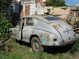 "Алексей Гришанков (Alegri). ""Retro car"""