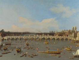 Джованни Антонио Каналь (Каналетто). Вестминстерский мост