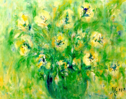 Мари Ромеро Кампо. Букет цветов 6