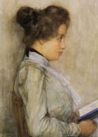 Пит Мондриан. Портрет женщины с книгой