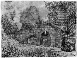 Херкюлес Питерс Сегерс. Руины замка Бредероде