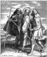 Питер Брейгель Старший. Иисус с учениками на пути в Эммаус