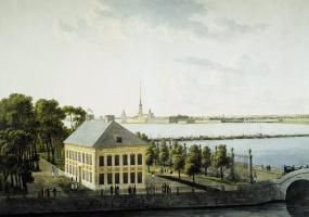 Андрей Ефимович Мартынов. Летний дворец Петра I