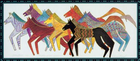Лорел Берч. Сказочные лошади11 родные лошади