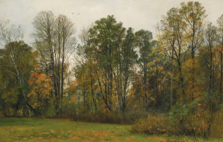 Ivan Ivanovich Shishkin. Autumn