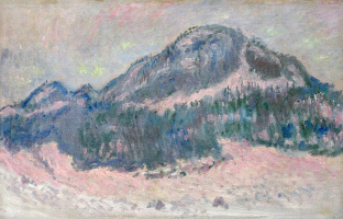 Клод Моне. Гора Колсаас, розовое отражение