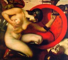 Franz von Pieces. Nude