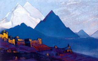 Nicholas Roerich. Ladakh (Le)