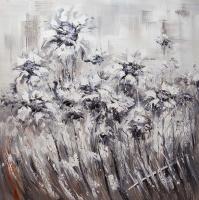 Christina Viver. Sunflowers. Monochrome