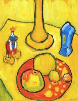 Габриель Мюнтер. Желтый натюрморт