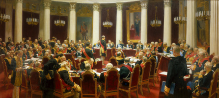 The ceremonial meeting of the State Council on 7 may 1901, in day of a centenary from the day of its establishment