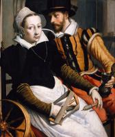 Питер Питерс. Мужчина и женщина за прялкой