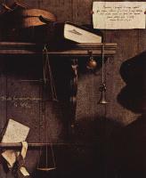 Ганс Гольбейн Младший. Портрет купца Георга Гиссе. Фрагмент