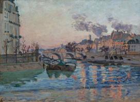 Арман Гийомен. Париж, мост Марии