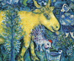 Marc Chagall. Barnyard