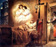 Karl Pavlovich Bryullov. Dream nuns