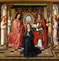 Дирк Баутс. Коронование Богоматери. 1455-1460